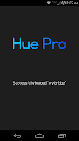 Screenshot of Hue Pro