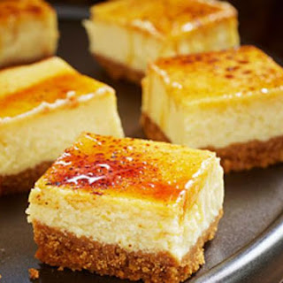 Crème Bruleè Cheesecake with a French Twist