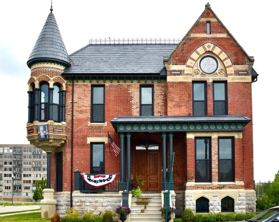Beautiful old house in Brush Park, Detroit