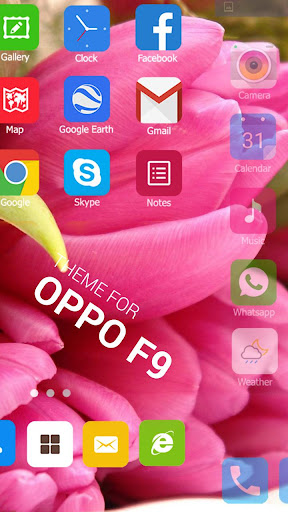 Theme for Oppo F9, Launcher theme pro HD wallpaper App