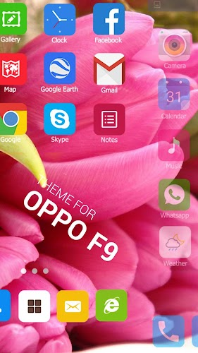Download Theme for Oppo F9, Launcher theme pro HD wallpaper