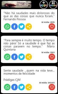 Frases de Saudade - náhled