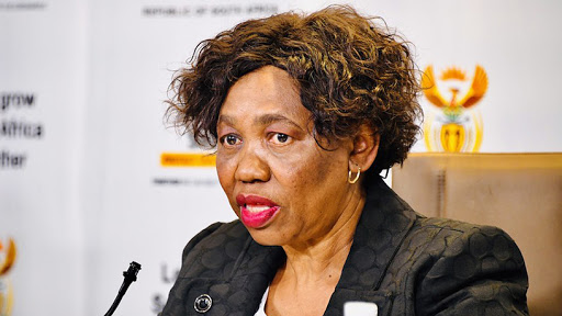 Minister in the Department of Basic Education, Angie Motshekga.