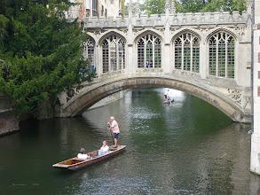 Photo: schöne alte Stadt am Wasser - Camebridge