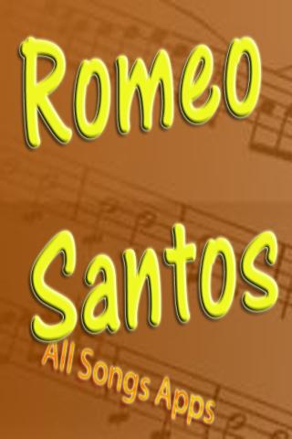 All Songs of Romeo Santos
