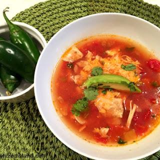 Simple Chicken Tortilla Soup.