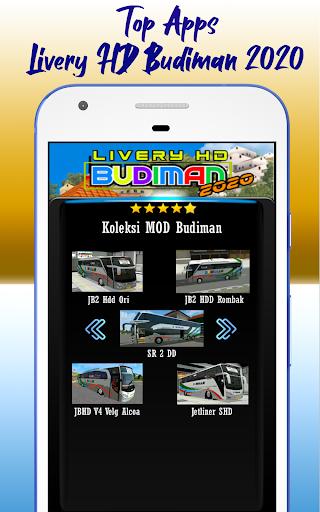 Livery HD Budiman 2020 1.0 screenshots 3