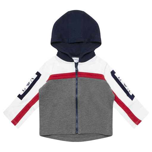 Primary image of Emporio Armani Zip Up Hooded Top