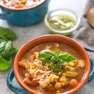 Quick and Easy Vegetable Soup.