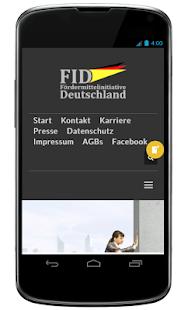 FID Fördermittelinitiative Deutschland - náhled