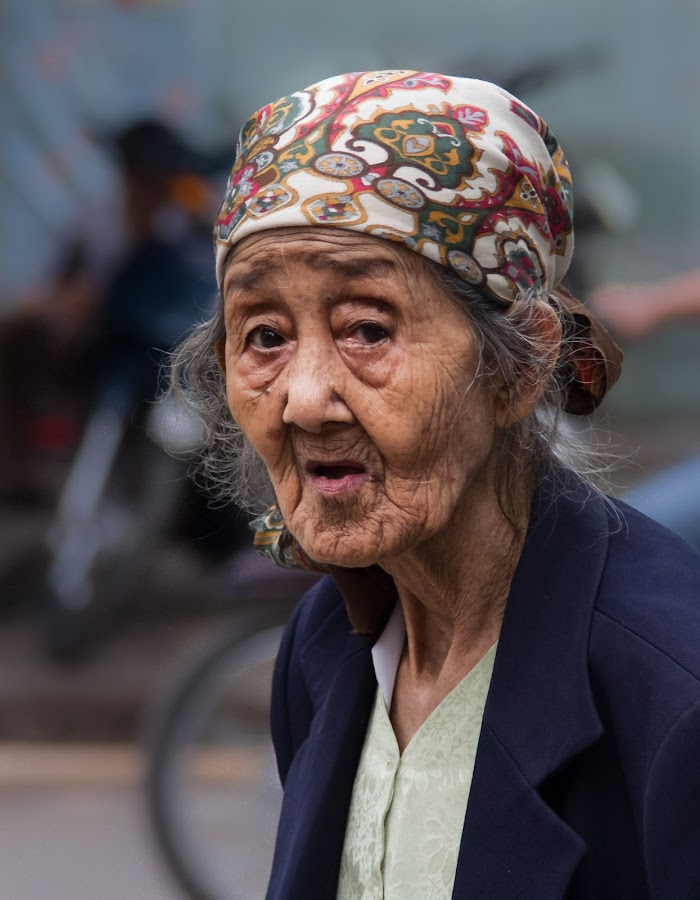 Ouma's 2nd cousin by André Norris - People Street & Candids ( senior citizen )