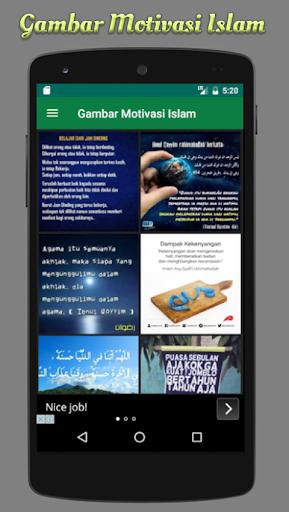 玩免費遊戲APP|下載DP Gambar Motivasi Islam app不用錢|硬是要APP