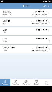 Texas Telcom Credit Union- screenshot thumbnail