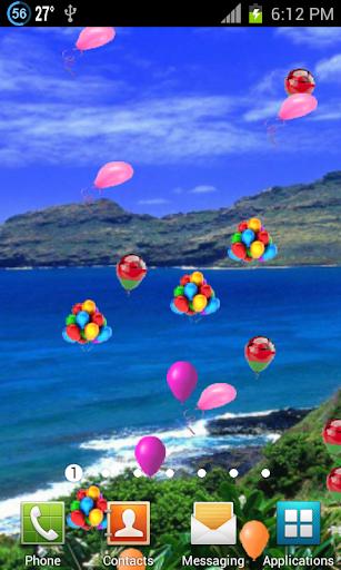 Flying Balloons LWP