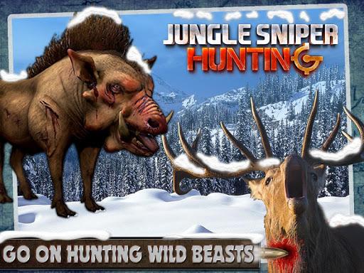 叢林狙擊手3D狩獵|玩動作App免費|玩APPs