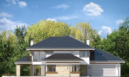 Dom z widokiem 6 - Elewacja przednia