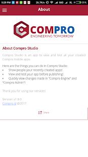 Compro Studio - náhled