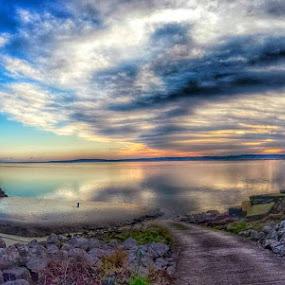 River Dee by Katarzyna Najderek - Landscapes Sunsets & Sunrises