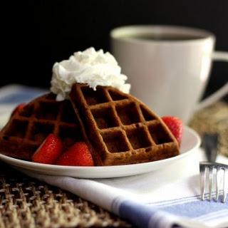 Chocolate Yogurt Waffles
