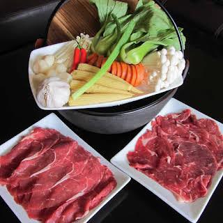 Japanese Hot Pot (Shabu Shabu) – Spicy Miso Broth.
