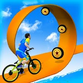 Bike Parkour 3D - Impossible Streets of Sky