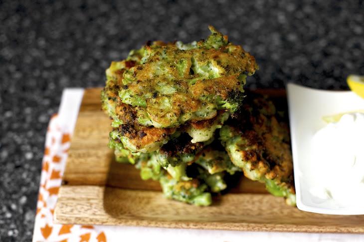 Broccoli Parmesan Fritters Recept | Yummly
