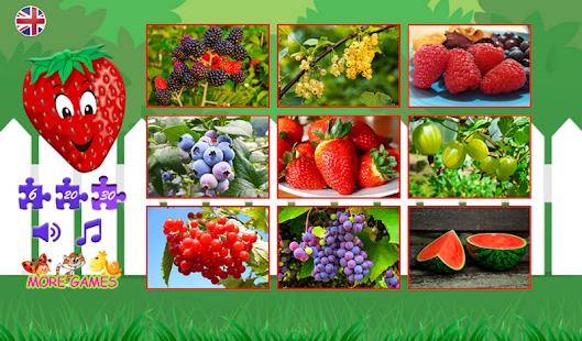 Puzzle pro děti berry - náhled