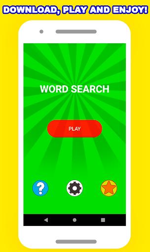 Word Search Puzzle - Free Fun Game  screenshots 1