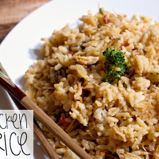 One Pan Chicken Fried Rice