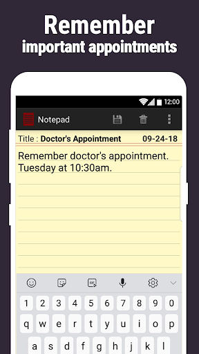 Notepad screenshot 4