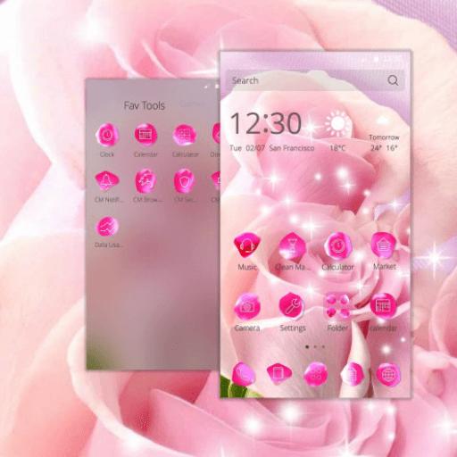Pink Rose Theme