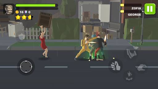 Code Triche Rage City: Streets of Gang Fighting & Fury Fighter APK MOD (Astuce) screenshots 1