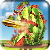 Watermelon Fruit Shooting Game 3D