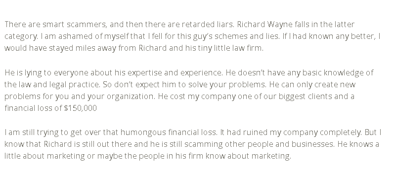 richard c wayne and associates
