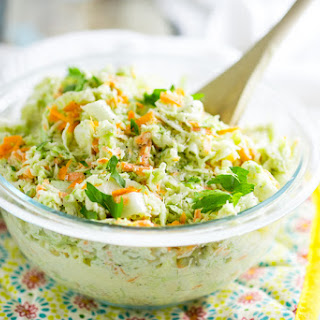 Creamy Southern Coleslaw.