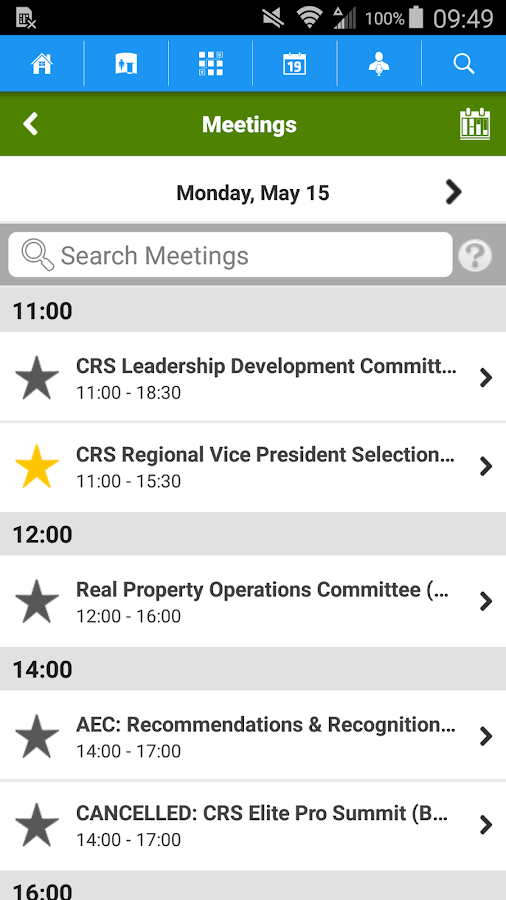 NAR Legislative- screenshot