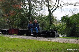 Photo: Virginia and Gil Freitag leaving Lakeside.   2009-1127 HALS Anniversary Meet