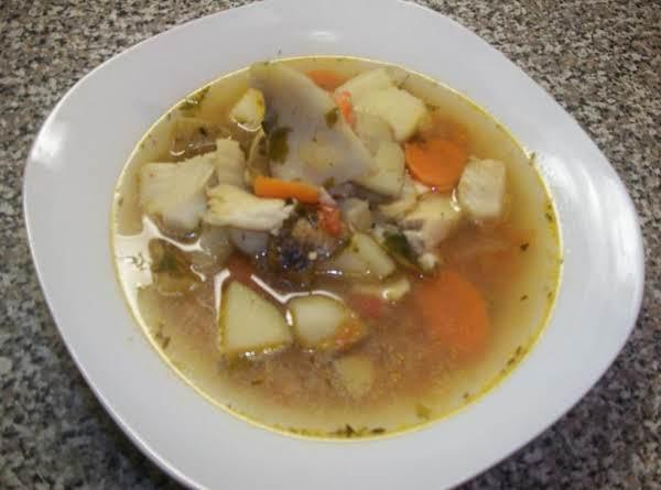 Comfort Fish Soup Recipe