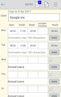 Timesheet PDF- screenshot thumbnail