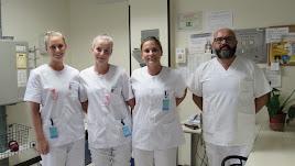 Las tres estudiantes de Erasmus realizan sus prácticas en El Ejido.