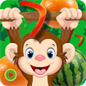 Monkey Master Jungle Run Adventures Collect Fruits icon