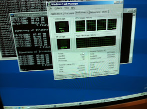 Photo: 16GB of ram with Windows server 2003 x64