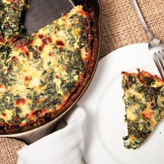 Easy Kale Quiche.