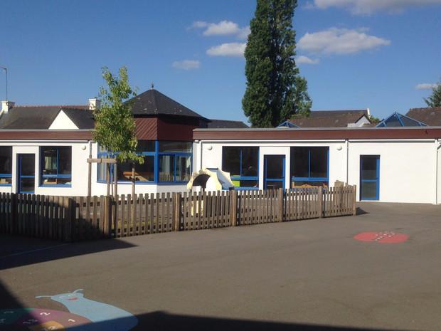 Ravalement façade école