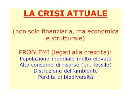 Decrescita - Intervento del prof. Gianni Tamino - Sabato 24 Novembre 2012 - Ist. Capitini - Perugia
