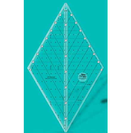 Linjal Creative Grids 60 degree Diamond Ruler (12036)
