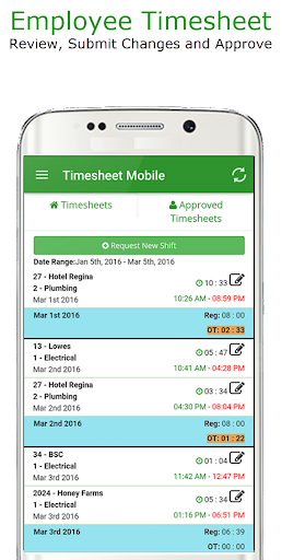 Employee Time Clock w/ GPS, Scheduling & Messaging  screenshots 7