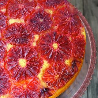 Blood Orange-Turmeric Upside Down Pound Cake