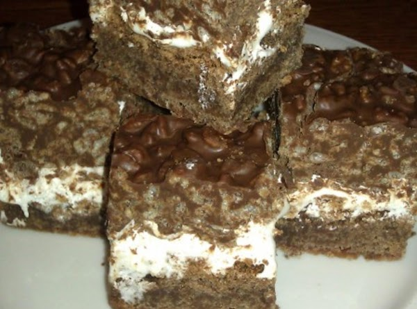 Chocolate Crunch Brownies Recipe