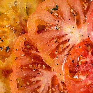 Heirloom Tomato Burrata Baguette